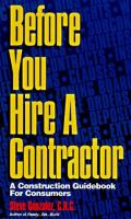 Before You Hire A Contractor