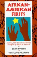 African-American Firsts
