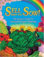 Sell What You Sow!