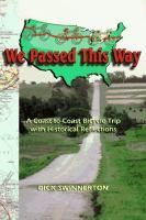 We Passed This Way