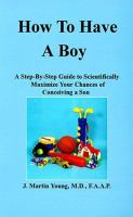 How To Have A Boy