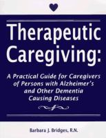 Therapeutic Caregiving