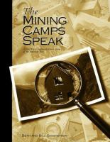 The Mining Camps Speak