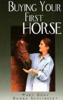 Buying your First Horse