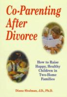 Co-parenting After Divorce