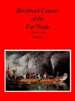 Birchbark Canoes of the Fur Trade