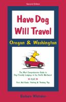 Have Dog Will Travel