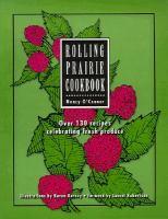 Rolling Prairie Cookbook
