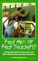 Real Men or Real Teachers?