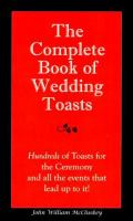 The Complete Book of Wedding Toasts