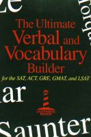 The Ultimate Verbal and Vocabulary Builder