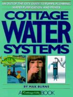 Cottage Water Systems