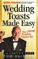 Wedding Toasts Made Easy