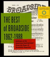 The Best of Broadside 1962-1988