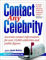 Contact Any Celebrity