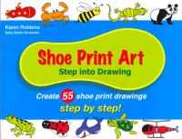 Shoe Print Art