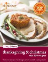 Tried & True Thanksgiving & Christmas