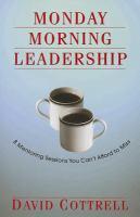 Monday Morning Leadership