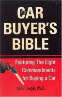 The Car Buyer's Bible