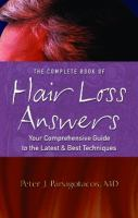 The Complete Book of Hair Loss Answers