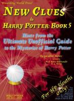 New Clues to Harry Potter, Book 5
