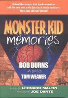 Monster Kid Memories
