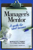 Manager's Mentor