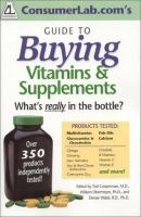 ConsumerLab.com's Guide to Buying Vitamins & Supplements
