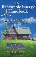 The Renewable Energy Handbook