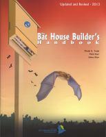 The Bat House Builder's Handbook
