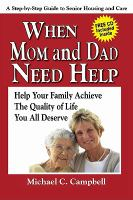 When Mom and Dad Need Help