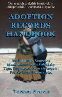Adoption Records Handbook