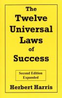 The Twelve Universal Laws of Success