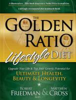 The Golden Ratio Lifestyle Diet