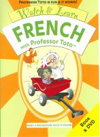 Watch & Learn French With Professor Toto