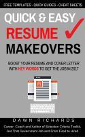 Quick & Easy Résumé Makeovers