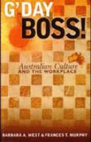 G'day Boss!