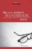 The New Writer's Handbook 2007