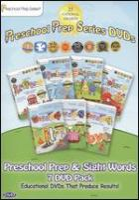 Preschool Prep & Sight Words 7 DVD Pack