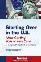 Starting Over in the U.S