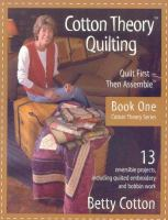 Cotton Theory Quilting