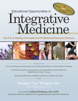 Educational Opportunities in Integrative Medicine