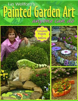 Painted Garden Art book cover