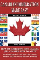 Canadian Immigration Made Easy