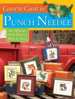 Coast to Coast in Punch Needle