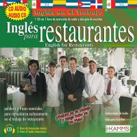 Inglés para restaurantes