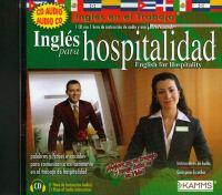 Inglés para el trabajo hospitalidad