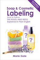 Soap & Cosmetic Labeling