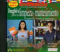 Inglés para limpieza y mantenimiento