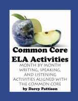 Common Core ELA Activities